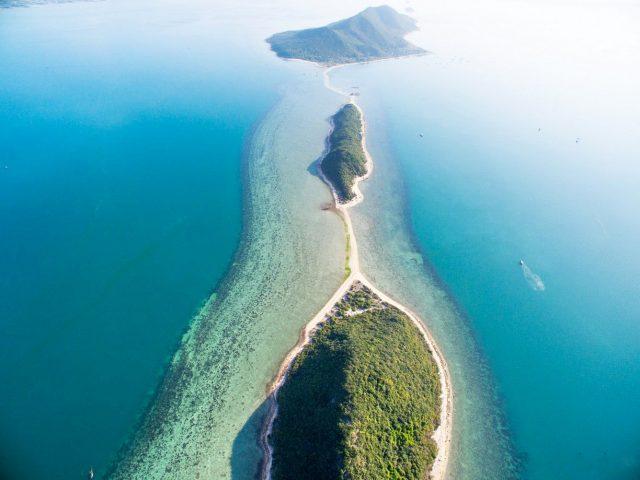Vẻ đẹp thiên nhiên của Vịnh Vân phong