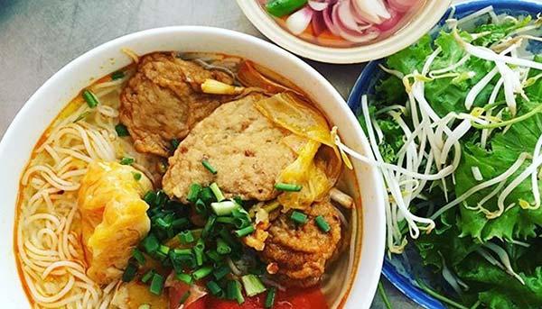Bún chả cá món ăn ngon hấp dẫn tại Đà Nẵng