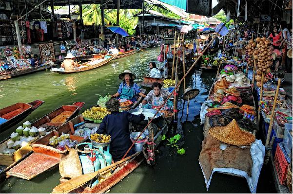 Trải nghiệm chợ nổi cái răng điểm du lịch Cần Thơ