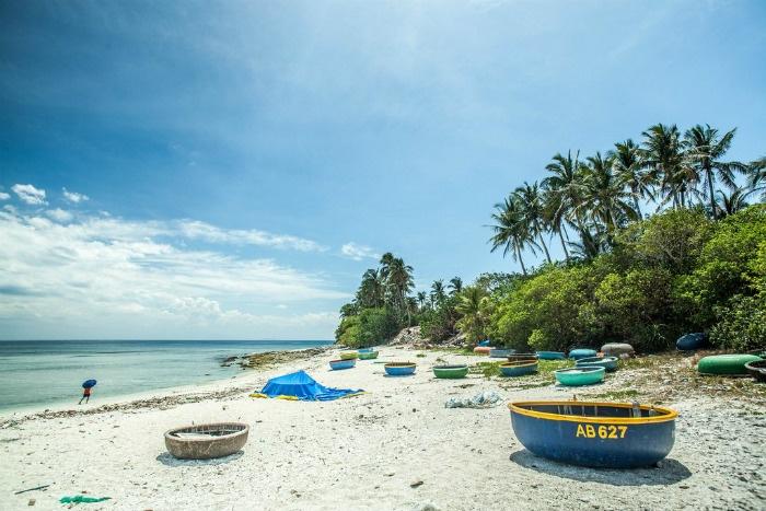 Cảm nhận một ngày bình yên trên Đảo An Bình