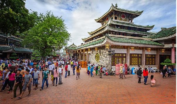Núi sam khu du lịch văn hóa đã khắc sâu vào tâm linh người dân An Giang
