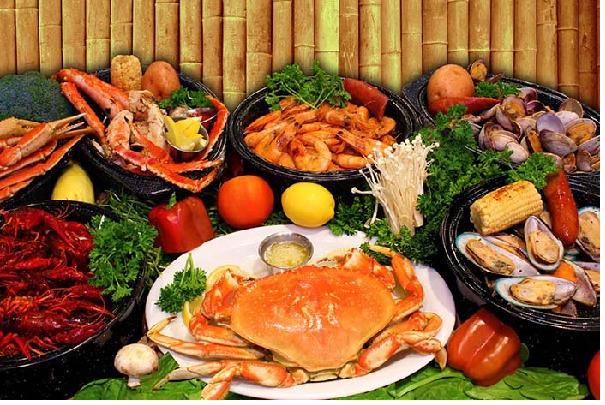Hải sản ngon hấp dẫn tại vùng biển Vũng Tàu