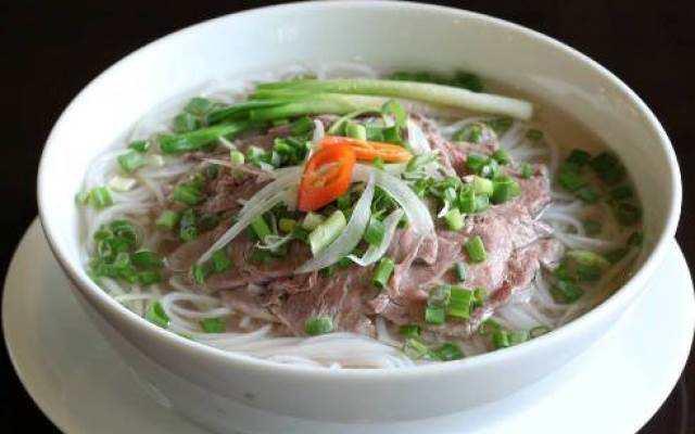 Phở bò đặc sản Nam Định