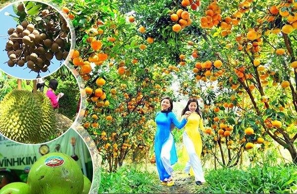 Tham quan vườn trái cây Mỹ Khánh Cần thơ