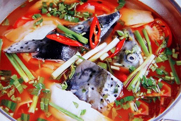 Lẩu cá tầm SaPa món ăn ngon ở khu du lịch Sapa