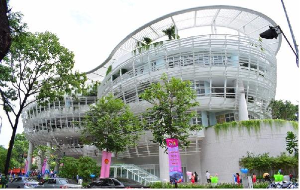 Nhà thiếu nhi thành phố - điểm chụp hình lý tưởng ở Sài Gòn