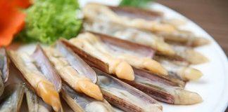 Ốc móng tay món ngon Quảng Ninh