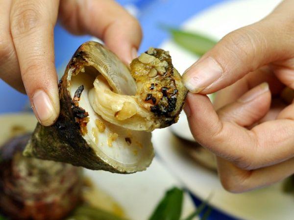 Ốc vú nàng món ăn ngon hấp dẫn miền biển Côn Đảo