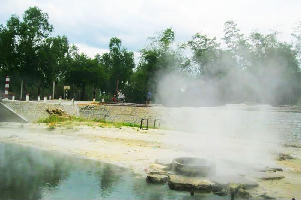 Khám phá khu du lịch suối khoáng Thái Sơn Kim