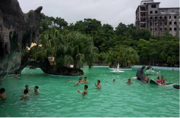 Thả mình vào không gian thoáng đãng mát mẻ tại hồ núi cốc Thái nguyên
