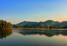 Du lịch khám phá hồ núi cốc Thái Nguyên