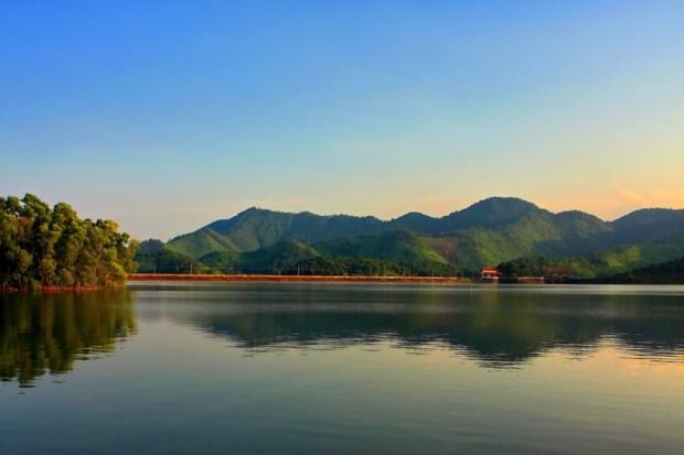 Hồ núi cốc Thái Nguyên điểm du lịch hấp dẫn