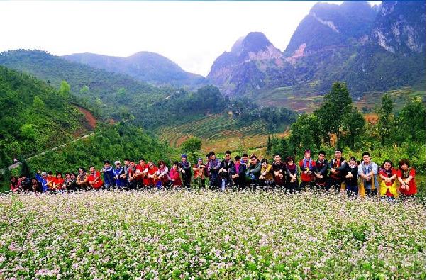 Du lịch phượt Hà Giang mùa Tam giác mạch