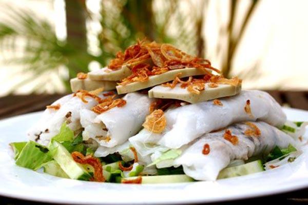 Bánh cuốn bà Thấu Hải Dương hương vị hấp dẫn