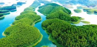 Khám phá vẻ đẹp mênh mông Hồ Thác Bà Yên Bái