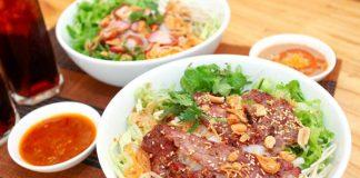 Bún thịt nướng món ngon đặc trưng Sài Thành