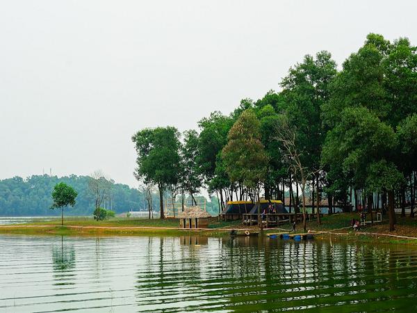Đồng Mô – Sơn Tây điểm du lịch quanh Hà Nội thu hút nhất