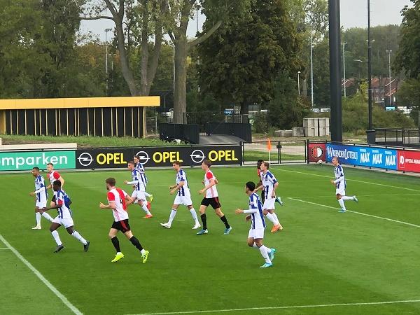 Văn Hậu được ra sân cùng đội trẻ Heerenveen