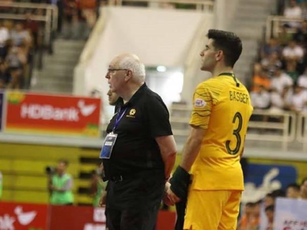 HLVfutsal Australia khen ĐT Việt Nam xứng đáng là ứng viên vô địch