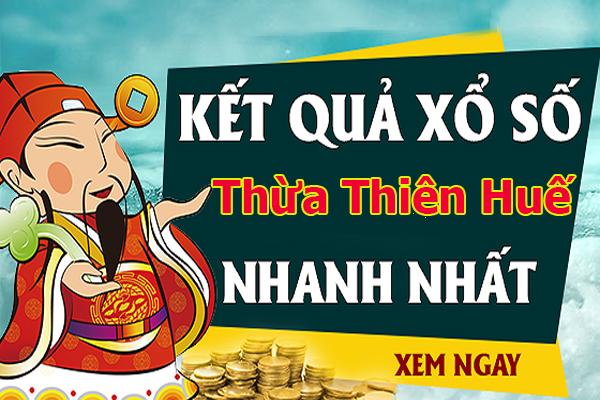 Soi cầu XS Thừa Thiên Huế chính xác thứ 2 ngày 14/10/2019