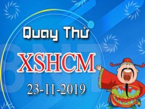 Soi cầu KQXSHCM xổ số hồ chí minh thứ 7 ngày 23/11