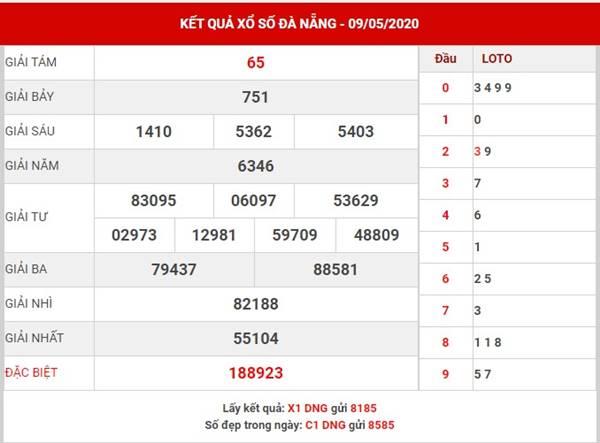 Soi cầu số đẹp XS Đà Nẵng thứ 4 ngày 13-5-2020