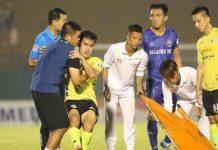 Bóng đá Việt Nam 26/6: Tiền vệ Hà Nội FC tổn thương dây chằng sau trận đấu với B.Bình Dương