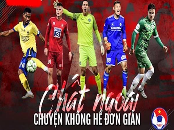 VFF muốn bổ sung cầu thủ ngoại cho ĐT Việt Nam