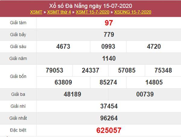 Soi cầu KQXS Đà Nẵng 18/7/2020 cực chuẩn cùng cao thủ