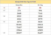 Soi cầu XSMT 8/7/2020 chốt lô giải tám KQXS miền Trung
