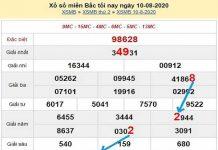 Soi cầu bạch thủ KQXSMB-xổ số miền bắc ngày 11/08 hôm nay