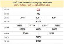 Soi cầu XSTTH 28/9/2020