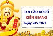 Soi cầu XSKG ngày 28/2/2021