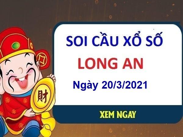 Soi cầu XSLA ngày 20/3/2021