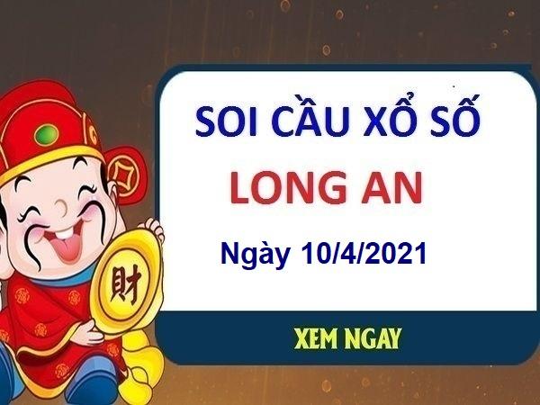 Soi cầu XSLA ngày 10/4/2021