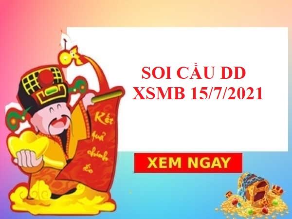 Soi cầu dự đoán SXMB 15/7/2021