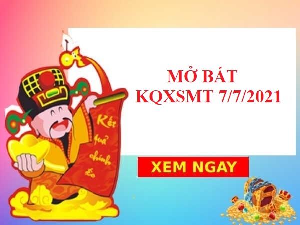 soi cầu KQXSMT 7/7/2021