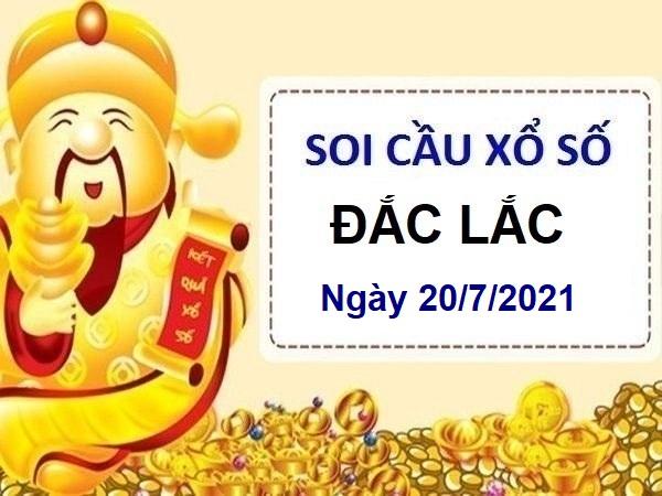 Soi cầu XSDLK ngày 20/7/2021
