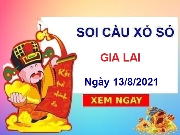 Soi cầu XSGL ngày 13/8/2021