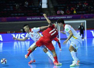 Bóng đá Việt Nam 17/9: Futsal Việt Nam tăng cơ hội vào vòng 1/8 World Cup
