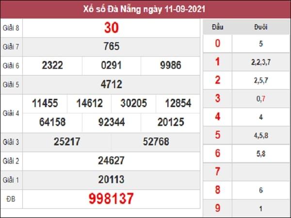 Soi Cầu XSDNG 15-09-2021