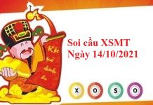 Soi cầu XSMT 14/10/2021